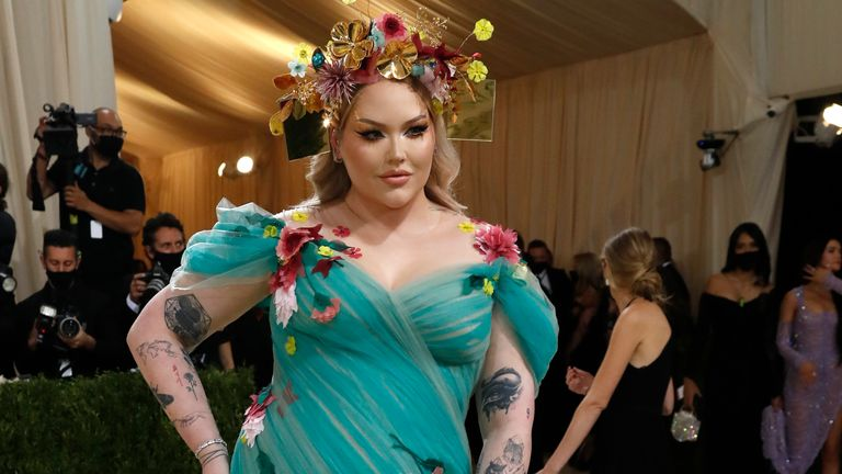 Metropolitan Museum of Art Costume Institute Gala - Met Gala - In America: A Lexicon of Fashion - Arrivals - New York City, U.S. - September 13, 2021. Nikkie de Jager. REUTERS/Mario Anzuoni