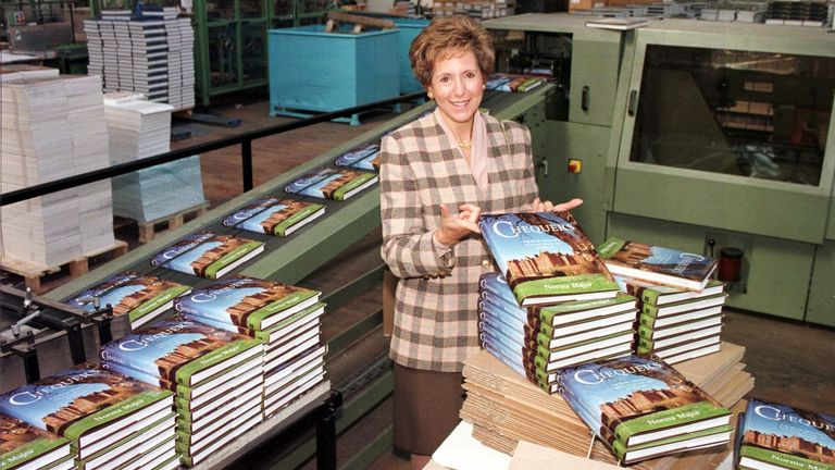 Dame Norma Major wrote a book about Chequers