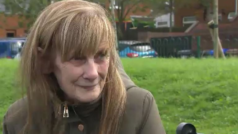 Lorraine Pollins's husband had to quit his job after he was diagnosed with cancer. They now have to ration their heating