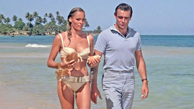 DR.NO 1962 United Artists film with Sean Connery and Ursula Andress
