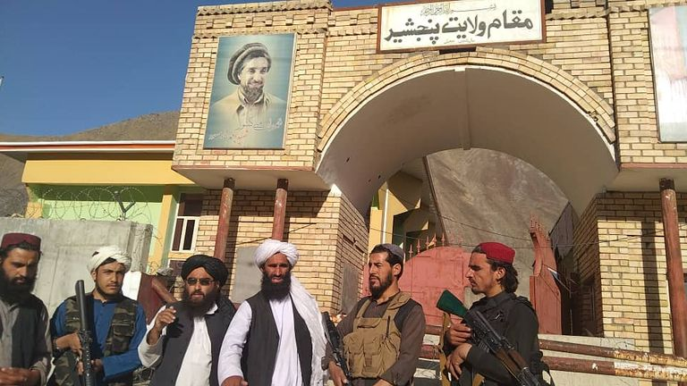 The Taliban have claimed complete control on Panjshir