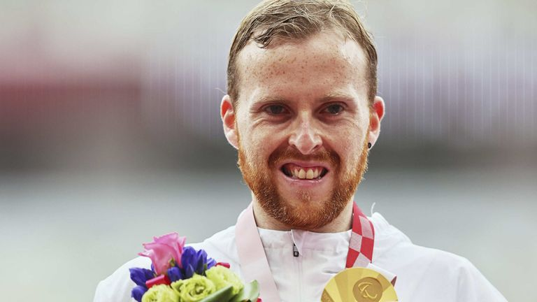 Owen Miller won gold in the 1,500m T20 event on day 10 of the Tokyo Paralympics
