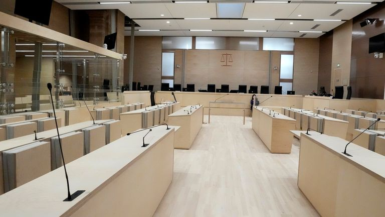 A new, specially built courtroom, will host the trial into the attacks