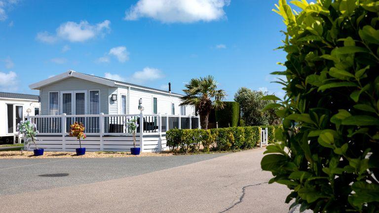 Park Holidays UK operates 42 holiday parks including caravan or lodge accommodation. :Pic: PHUK