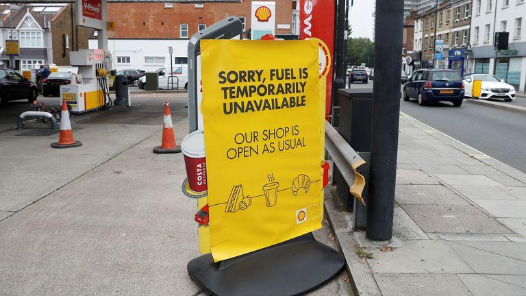 No fuel