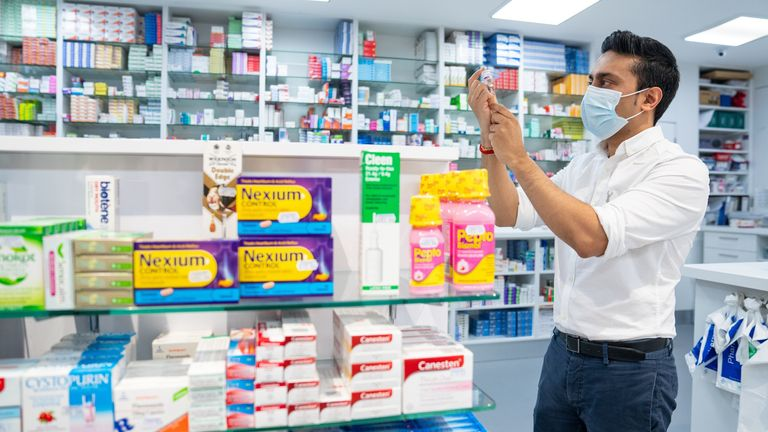 Pharmacies continue to receive deliveries