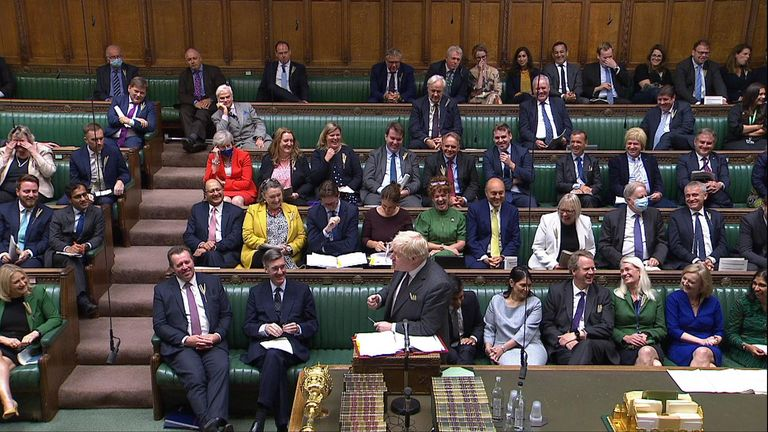 The Conservative Party in PMQs