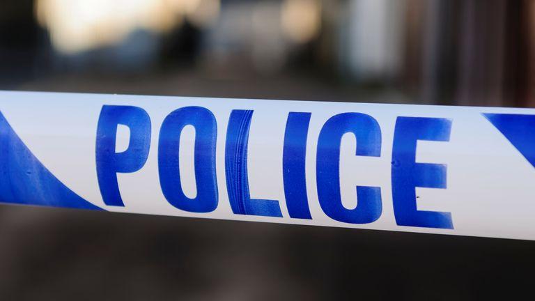 Police tape at the cordon across a crime scene. Pic: iStock