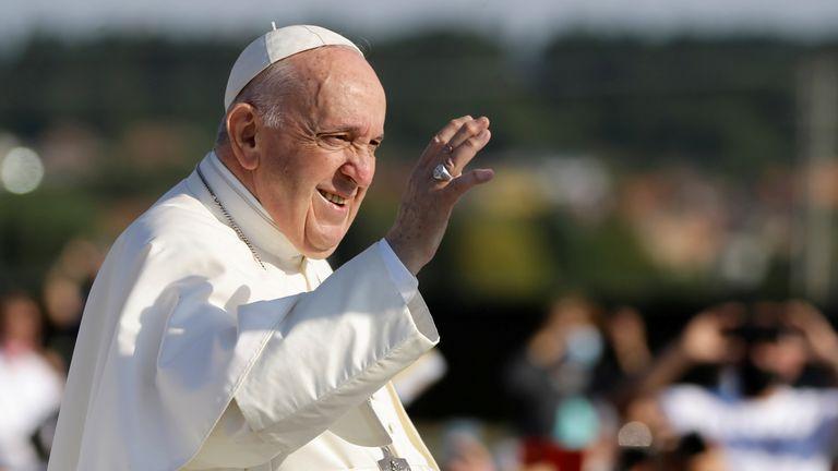 Pope Francis in Bratislava