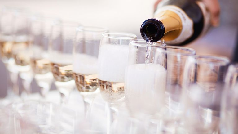 Prosecco is produced in an area spanning nine provinces in Italy