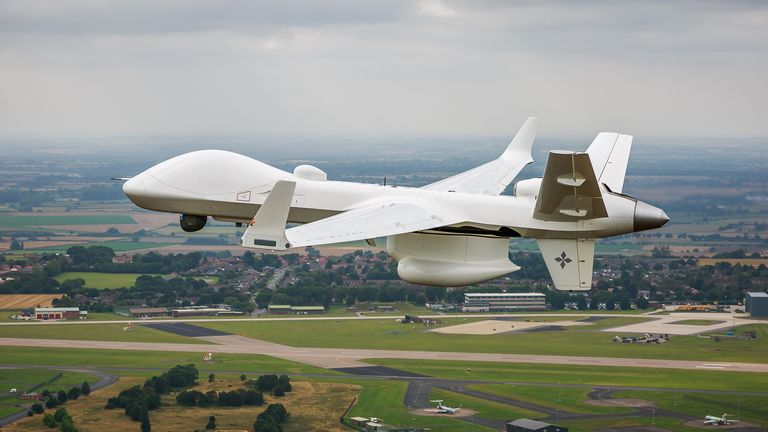 Protector drone. Pic: Ministry of Defence
