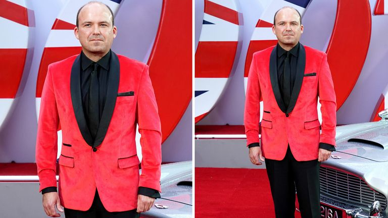 Rory Kinnear attending the World Premiere of No Time To Die, held at the Royal Albert Hall in London. Picture date: Tuesday September 28, 2021.