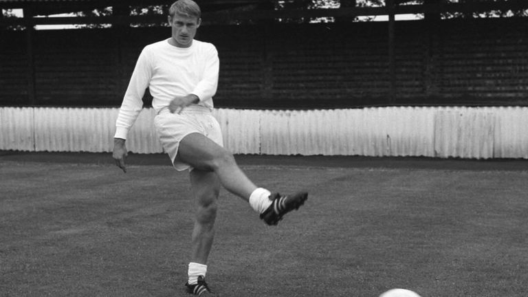File photo dated 10-07-1966 of England's Roger Hunt. Issue date: Tuesday September 28, 2021.