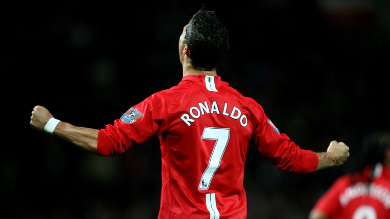 Ronaldo will be wearing the iconic No 7 shirt for Manchester United once again