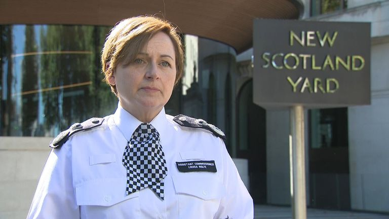 Assistant Commissioner Louise Rolfe says everyone needs to work together to end violence against women and girls.