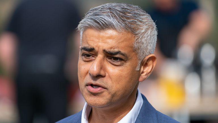 London Mayor Sadiq Khan said urgent global action is needed to tackle climate change