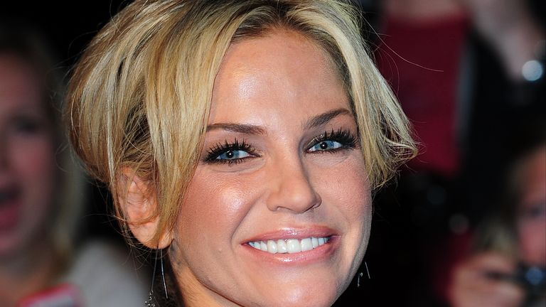 File photo dated 07/10/2013 of Sarah Harding arriving at the 2013 Pride of Britain awards at Grosvenor House, London. The Girls Aloud star has died at the age of 39, her mother has said in a post on Instagram. Issue date: Sunday September 5, 2021. See PA story SHOWBIZ Harding.