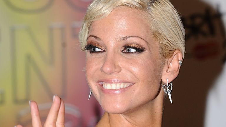 Sarah Harding said Girls Aloud's Brit Awards win, for best single for The Promise in 2009, was one of the biggest moments of her life