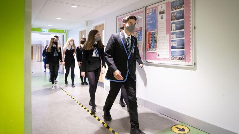 Les écoles écossaises ont rouvert le mois dernier