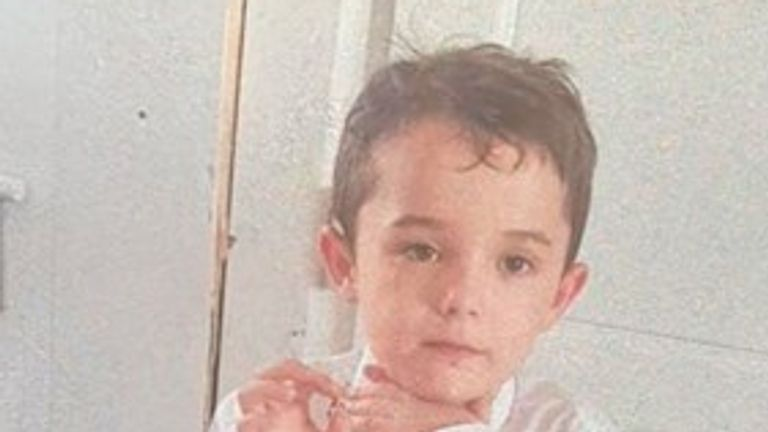 Seven-year-old Carson Shephard has been missing since Sunday 19  September. Pic: Police Scotland