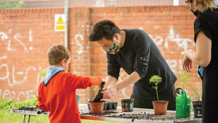 The scheme is aimed at four to five-year-olds
