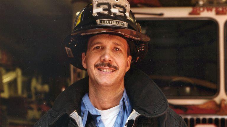 Lt Kevin Pfeifer died on 9/11. Pic: Chief Joseph Pfeifer