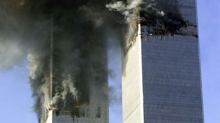 Nearly 3,000 people died in the 9/11 attacks