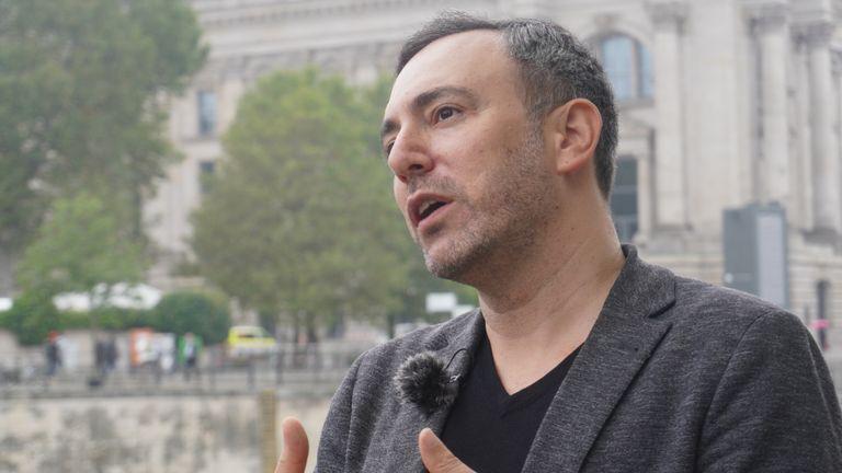 Green MEP Sergei Lagodinski,