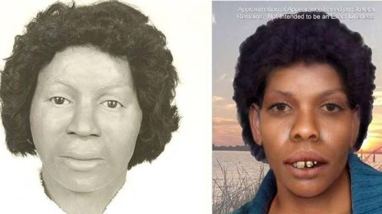 Clara Birdlong went missing in the 1970s Pic Jackson County Sheriff's Department