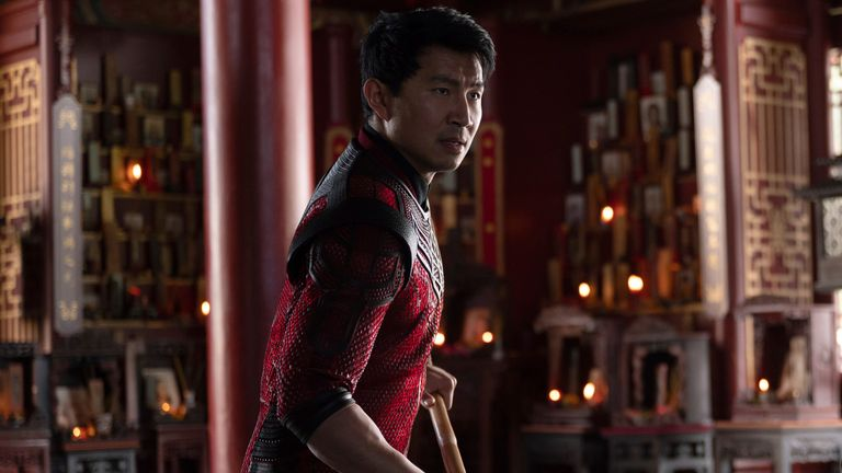 Shang-Chi (Simu Liu) in Marvel Studios' SHANG-CHI AND THE LEGEND OF THE TEN RINGS. Photo by Jasin Boland. ..Marvel Studios 2021. All Rights Reserved.