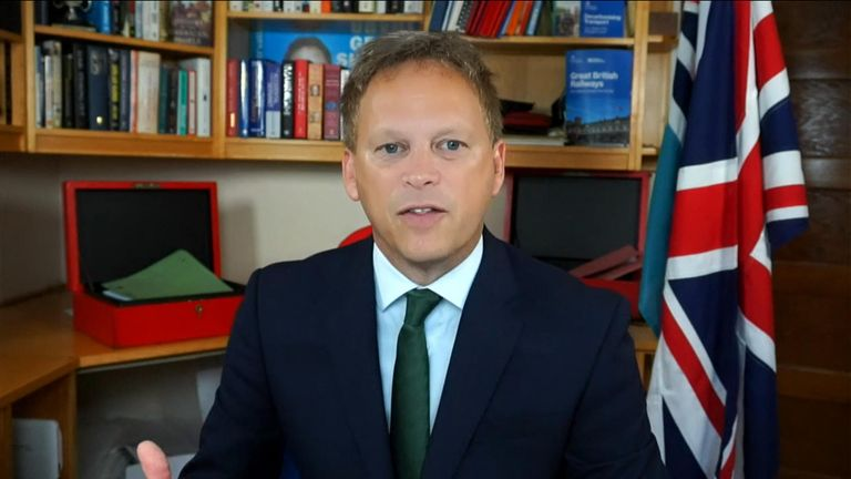 While being questioned over the current fuel crisis, Grant Shapps suggested the situation did not need to happen.
