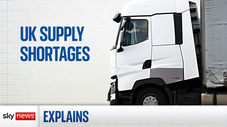 Sky News Explains - Why are there supply shortages in the UK?