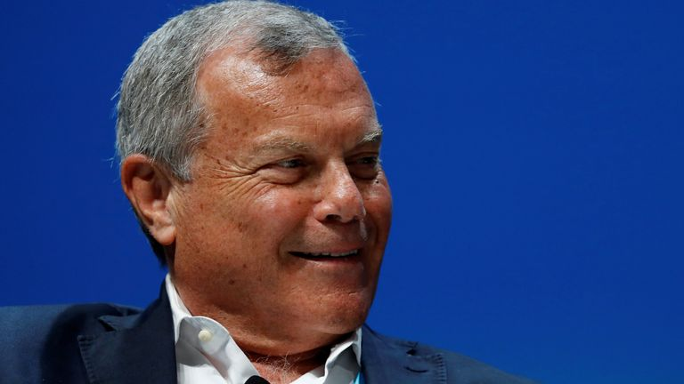 Sir Martin Sorrell, pictured in 2018