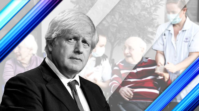 Boris Johnson has announced plans for new social care reforms