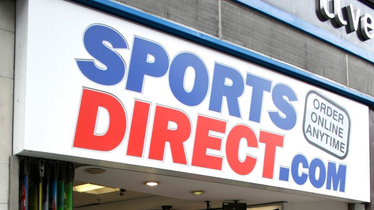 A Sports Direct store, London. (Newscast Limited via AP Images)