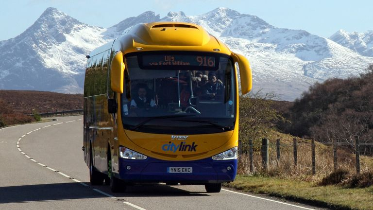 Stagecoach has the Citylink and Megabus brands in its stable of services