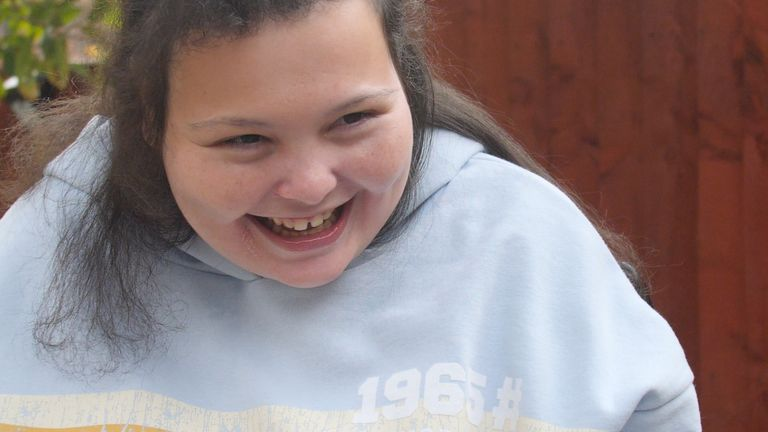 Isabel Stanley from Altrincham has been severely disabled for most of her life. She can't walk, can barely talk and has no means of caring for herself.