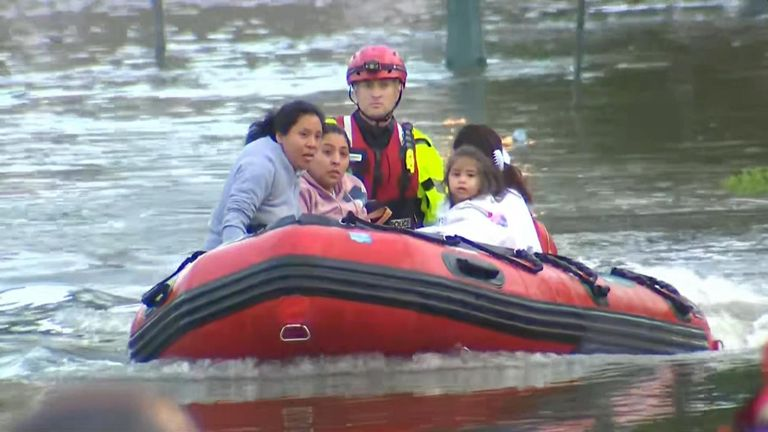 The remnants  of Storm Ida caused flash flooding in New York and New Jersey.