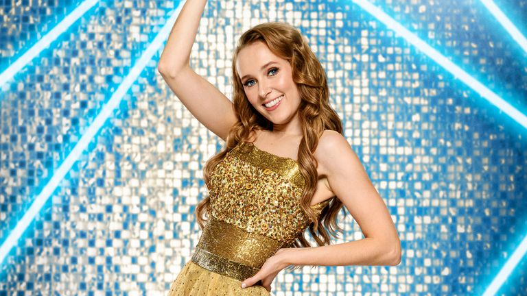Rose Ayling-Ellis is Strictly Come Dancing's first deaf contestant. Pic: BBC/Ray Burmiston
