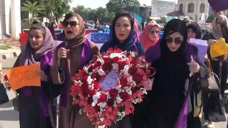 Taliban special forces bring abrupt end to women's forces