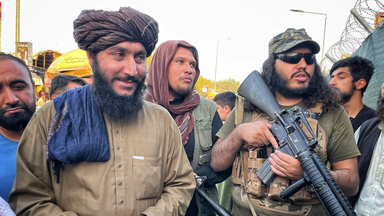 Taliban checkpoint
