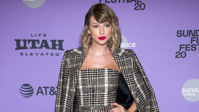 Taylor Swift. File Pic: Charles Sykes/Invision/AP