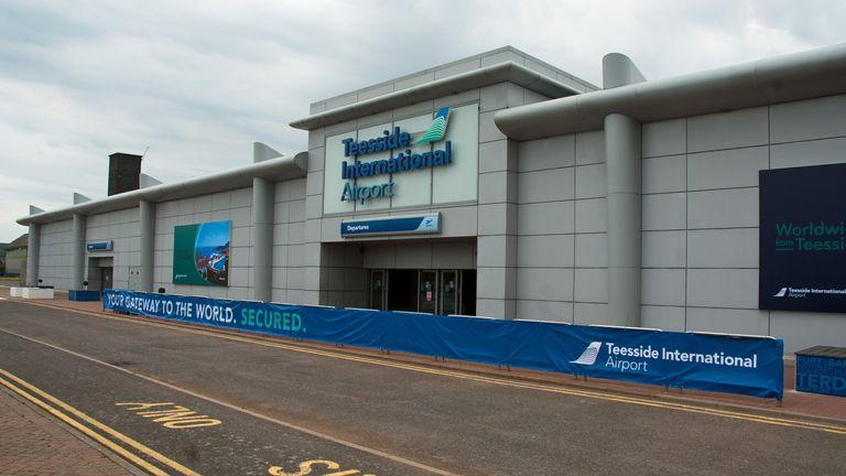 Teeside International Airport. Pic: The joy of all things