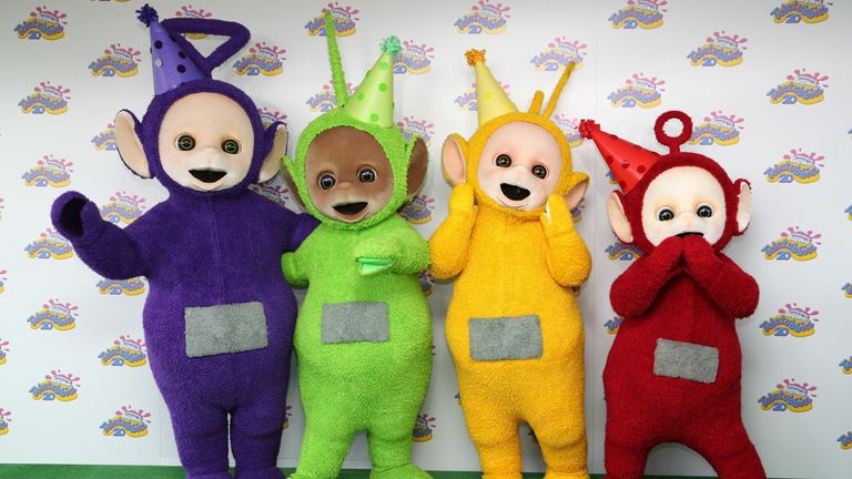 The Teletubbies are releasing a new album ahead of their 25th anniversary (file pic)