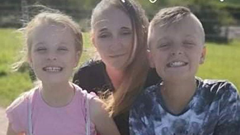 Terri Harris died along with her children Lacey and John Paul Bennett