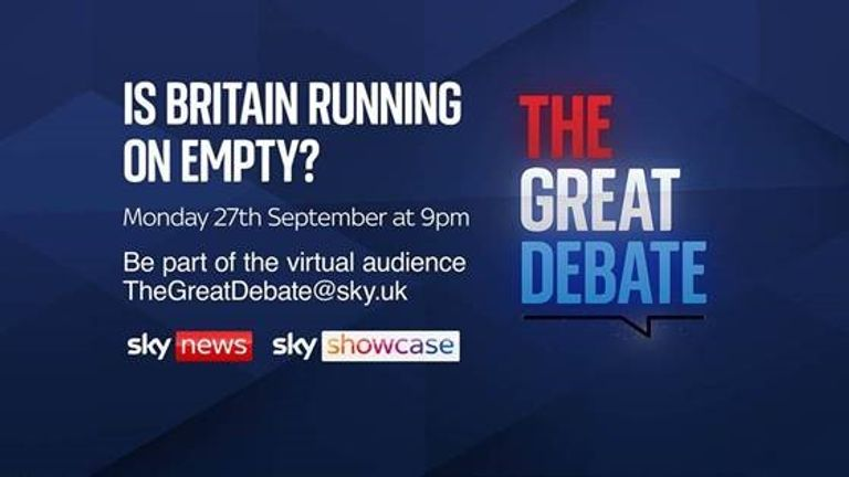 Is Britain running on empty?