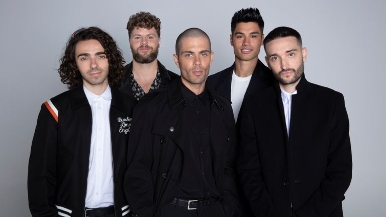 The Wanted - (L-R): Nathan Sykes, Jay McGuiness, Max George, Siva Kaneswaran and Tom Parker - have announced their reunion. Pic: Eva Pentel