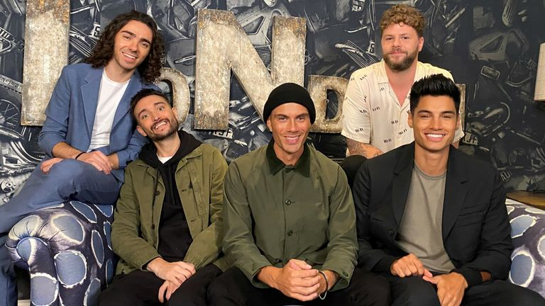 The Wanted - (L-R): Nathan Sykes, Tom Parker, Max George, Jay McGuiness and Siva Kaneswaran - have announced they are reuniting