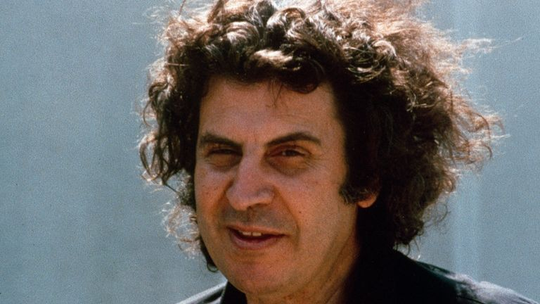 Theodorakis pictured in 1974. Pic: AP