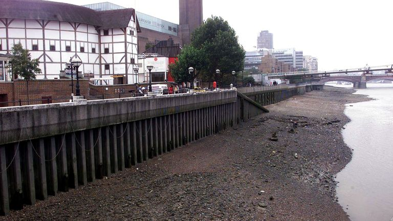 The river banks of the Thames in front of the Globe Theatre and Tate Modern in London, where a torso of a child was discovered by a member of the public. Detective Superintendent Adrian Maybanks said the body was that of an Afro-Caribbean boy of around 5 years old. * and a half-years-old, he described the murder as tragic and traumatic. 02/07/03 : Police have arrested a 37-year old Nigerian man in Dublin in connection with the murder of the unidentified youngster who has been named Adam. Detecti